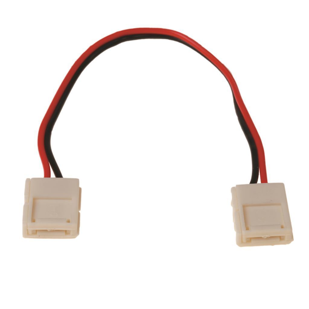 Led connector 10mm. On Two Sides Connector.