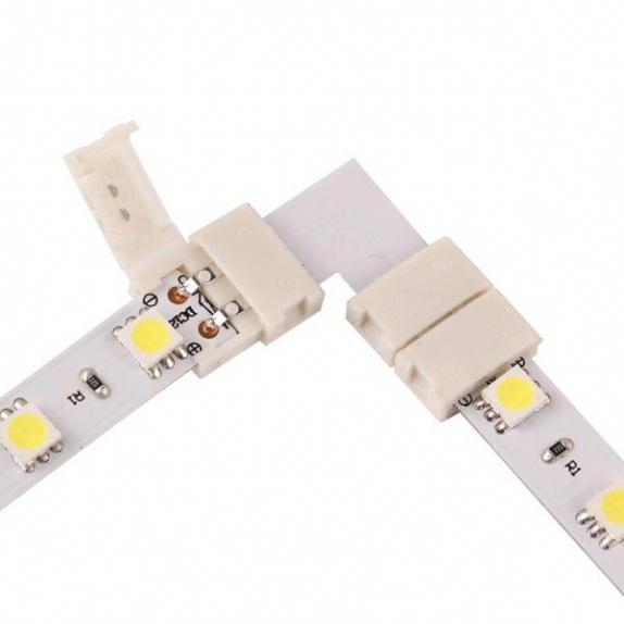 Led connector 10mm. Shape: L.