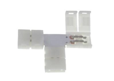 Led 8mm connector. Shape: T
