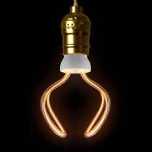 Decorative bulb LED Art Globo, 12W, E27 small 1