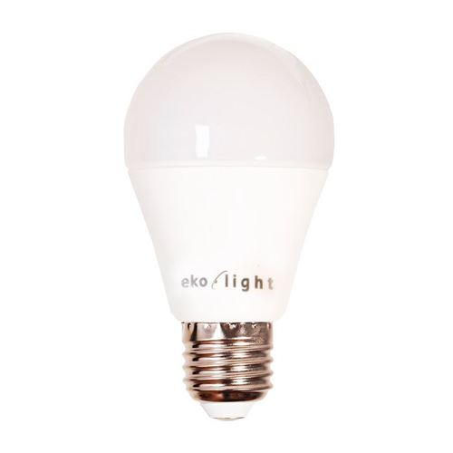 Led bulb 12 W E27 A60. Color: Warm