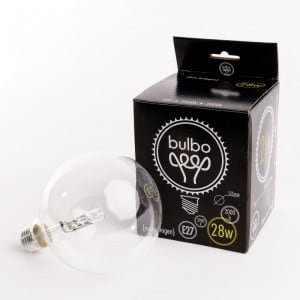 Halogen Decorative bulb eco 12.5 cm 28 W small 1